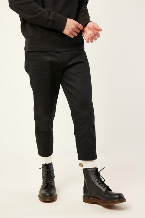 Dickies Cropped Tapered Leg Pant Black