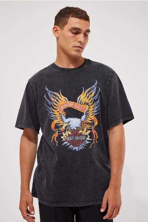 Harley-Davidson Eagle Crest Tee Vintage Black
