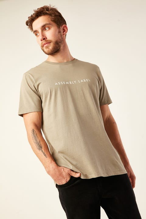 ASSEMBLY Logo Tee Seagrass