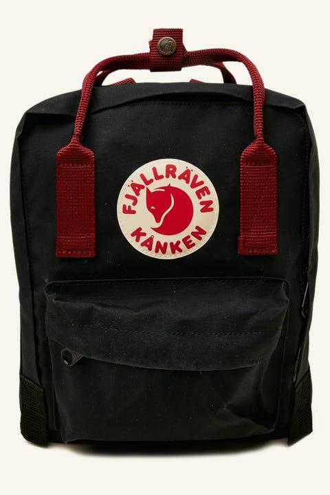 Fjallraven Kanken Mini Black/Ox Red