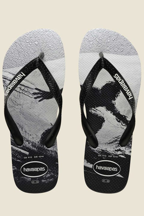 Havaianas Top Photoprint Fish Eyes Black White Black White