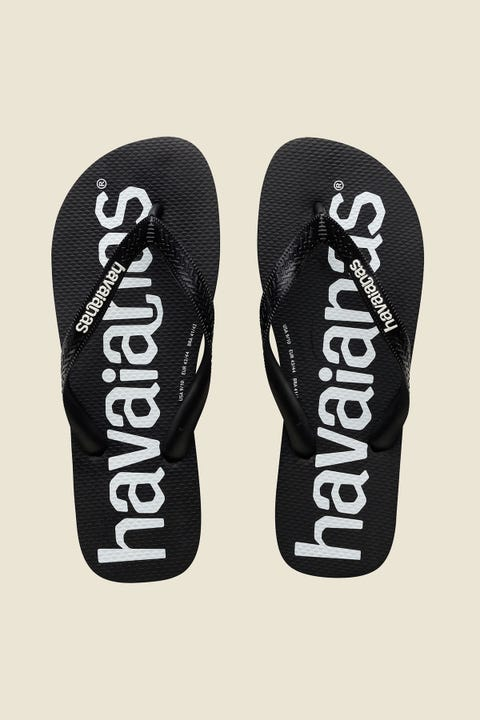 Havaianas Top Photoprint Top Logo Mania Black Black