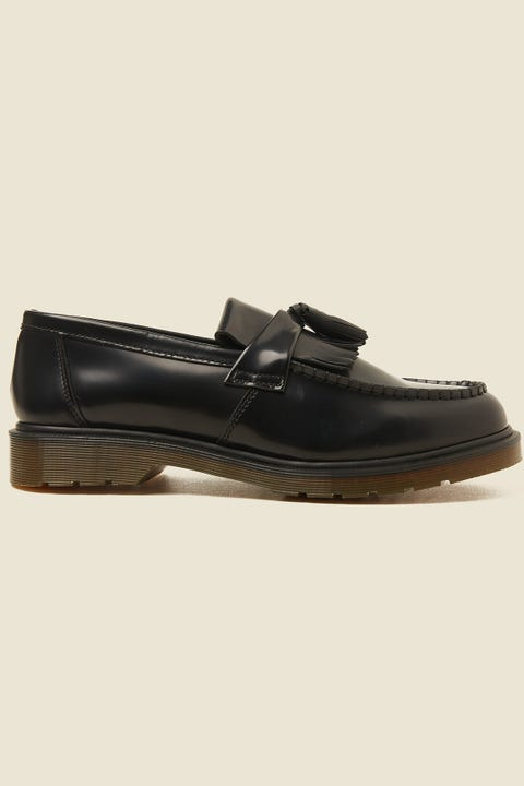 Dr Martens Mens Adrian Tassel Loafer Black