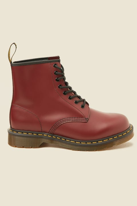 DR MARTENS 1460 8 Eye Boot Cherry Red