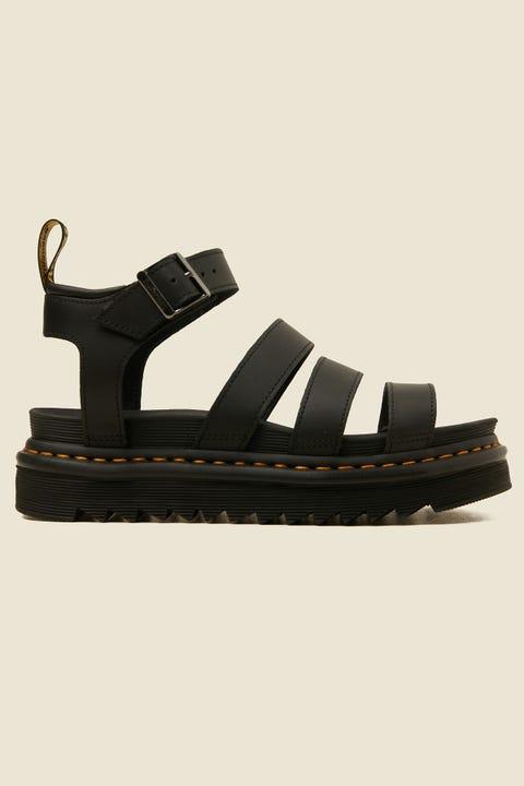 DR MARTENS Blaire Hydro Sandal Black