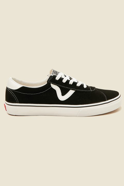 Vans Sport (Suede) Black/True White
