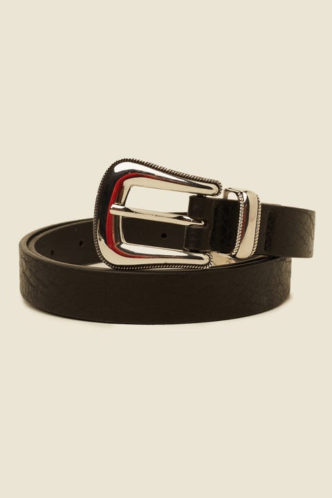 TOKEN One Way Belt Silver