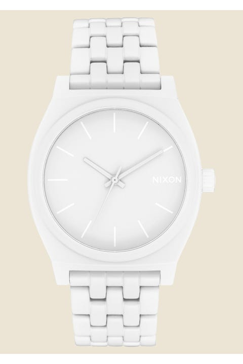 Nixon Time Teller Flat White