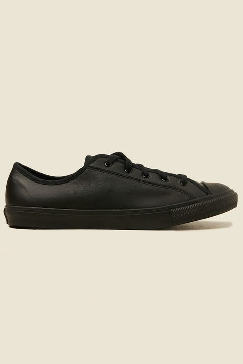CONVERSE CTAS Dainty Leather OX Black/Black/Black