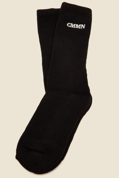 COMMON NEED Pilot Sock Black