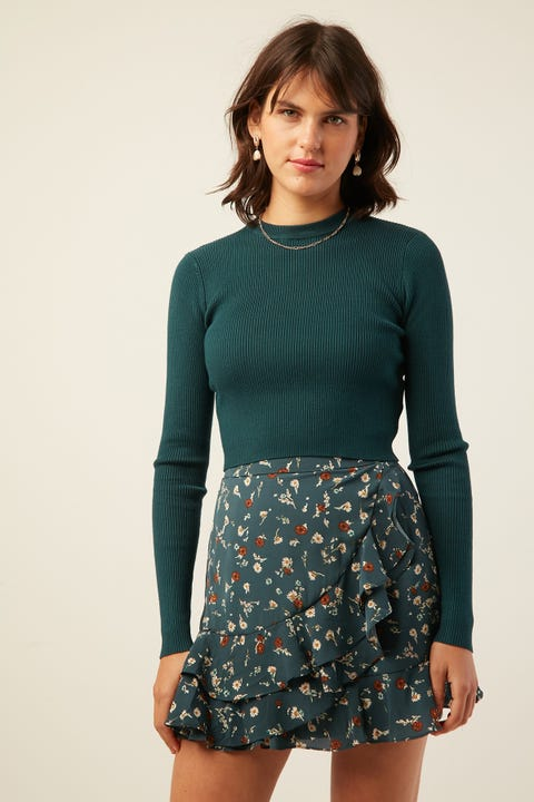 PERFECT STRANGER Leonie Knit Teal