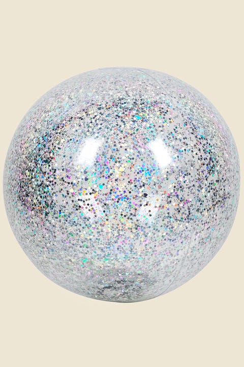 SUNNYLIFE Inflatable Beach Ball Glitter