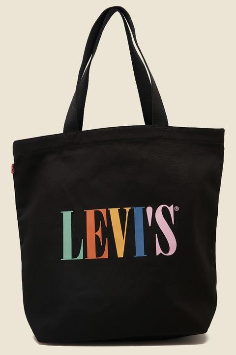 LEVI'S Levi's Serif Multi Tote Black/Multi Logo