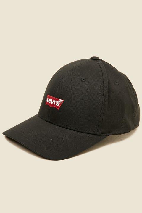 LEVI'S Mid Batwing Cap Black