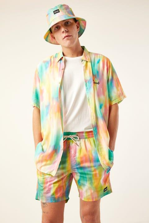 "BARNEY COOLS Amphibious 17"" Short Rainbow"