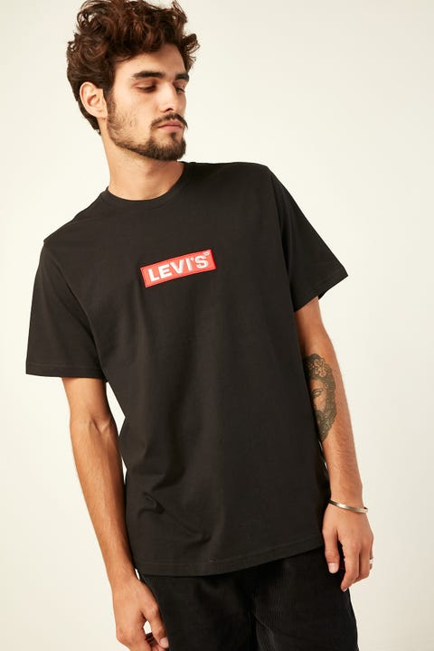 LEVI'S Relaxed Graphic Tee Black