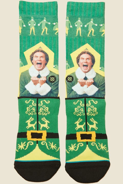 Stance x Elf I Know Him Green