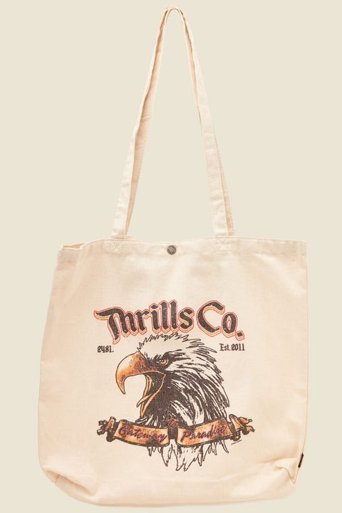 THRILLS Gateway Tote Dirty White