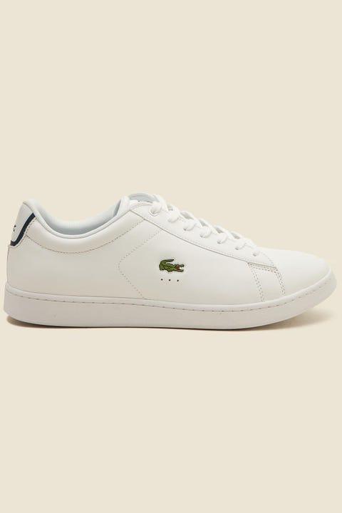 LACOSTE Carnaby Evo White/White