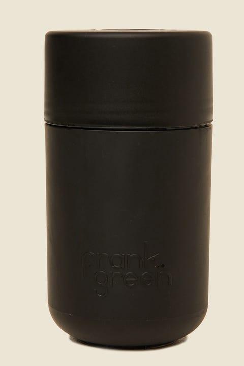 FRANK GREEN Next Generation Reusable Cup 12oz Black