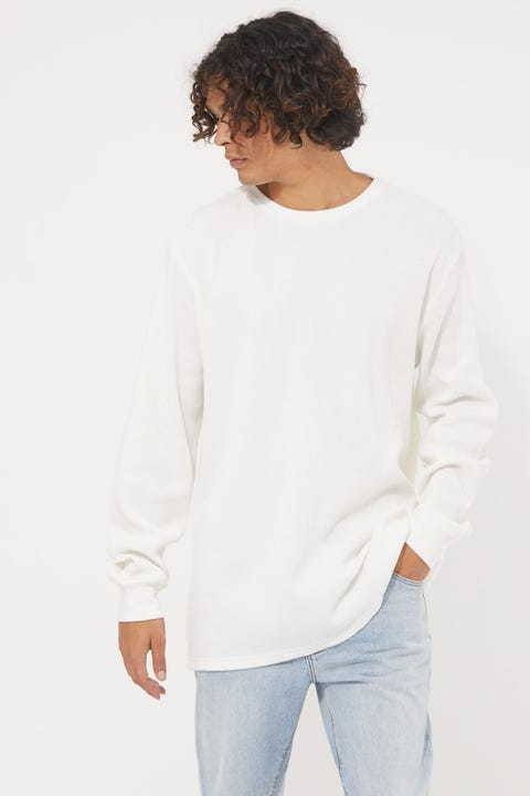 Common Need Comfort Longsleeve Tee White