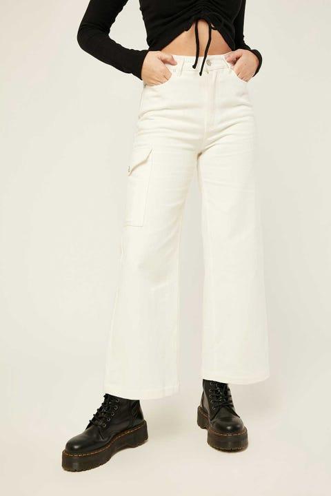 LUCK & TROUBLE Illusion Pants Cream
