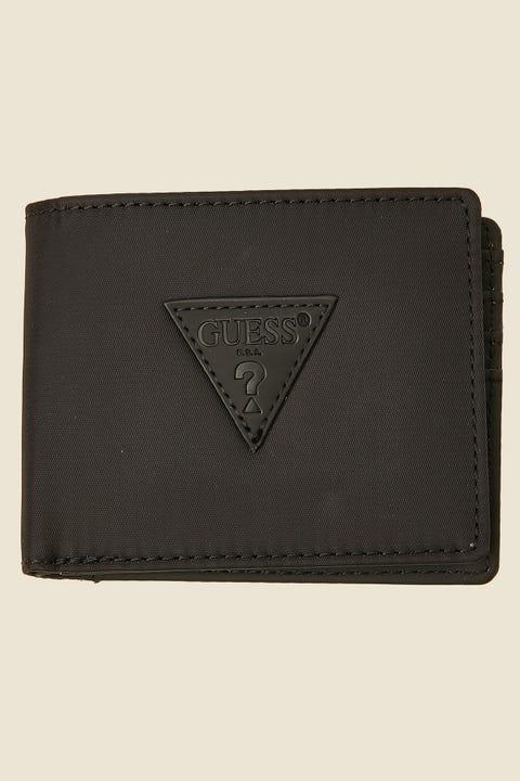 GUESS ORIGINALS Bi-Fold Wallet Black