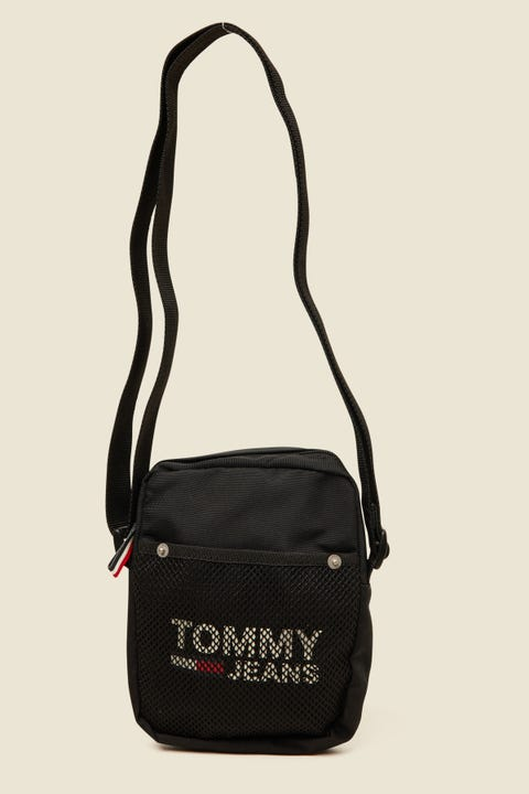 Tommy Jeans Cool City Mini Reporter Black
