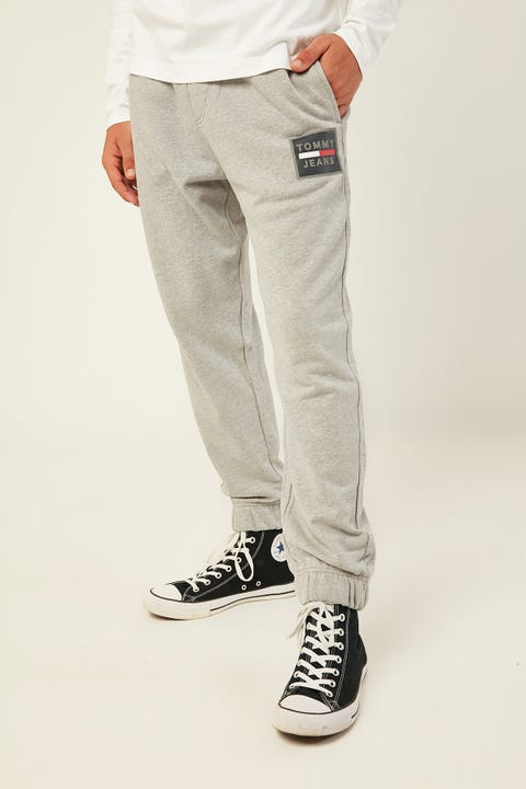 TOMMY JEANS TJM Graphic Sweatpant Grey Heather Light Grey Heather