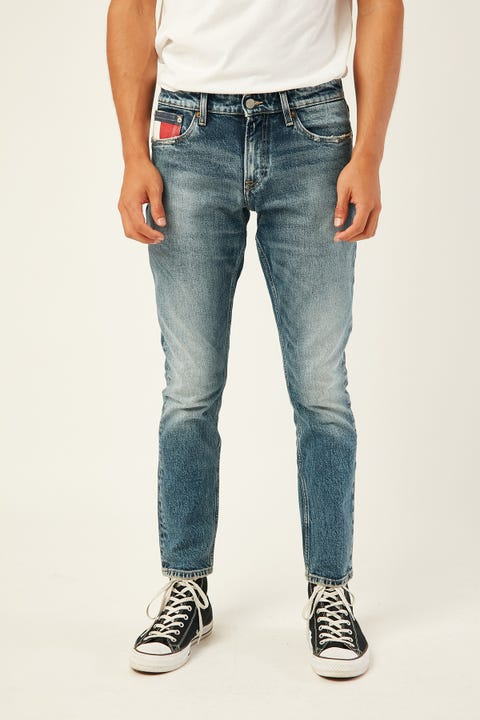 TOMMY JEANS Scanton Heritage Slim CLRKM Clark Mid Blue