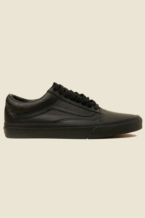 Vans Old Skool Leather Black Mono