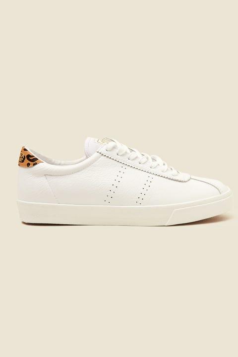 Superga 2843 Club S Leather White/Animalier