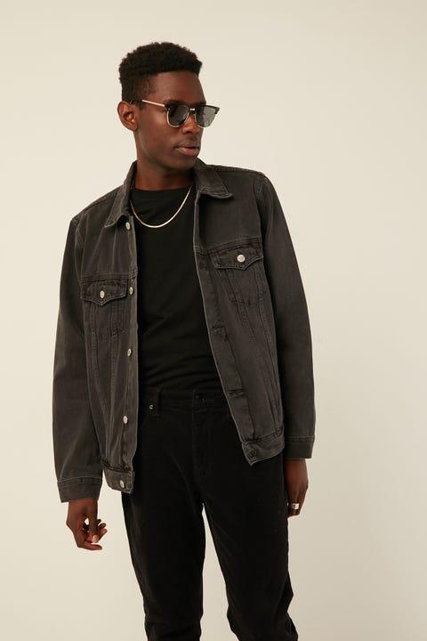 ASSEMBLY Homme Denim Jacket Faded Black