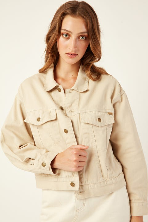 THRILLS Jessie Jacket Dirty White