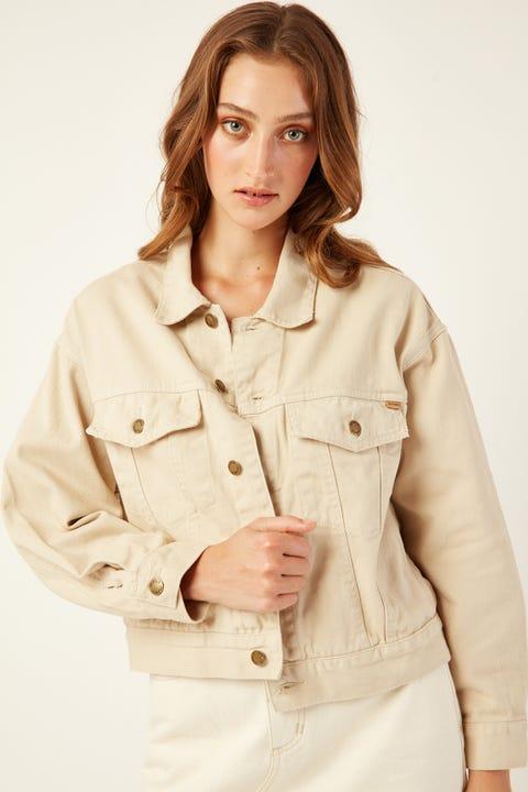 THRILLS Jessie Jacket Dirty White