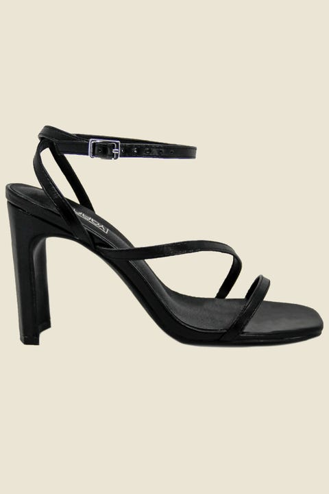 Therapy Strapt Heel Black