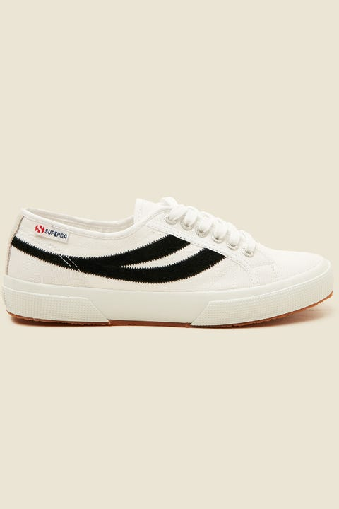 SUPERGA 2953 Swallowtail White/Black