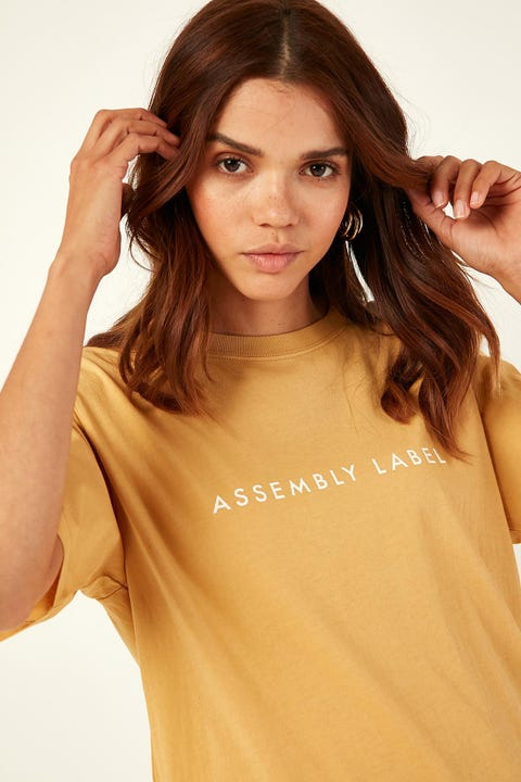 Assembly Logo Tee Amber