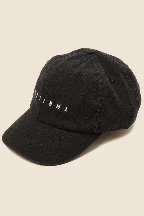 Thrills Minimal Cap Merch Black