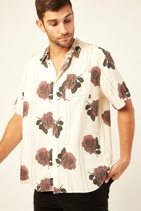 THRILLS Rose Lens SS Shirt Dirty White
