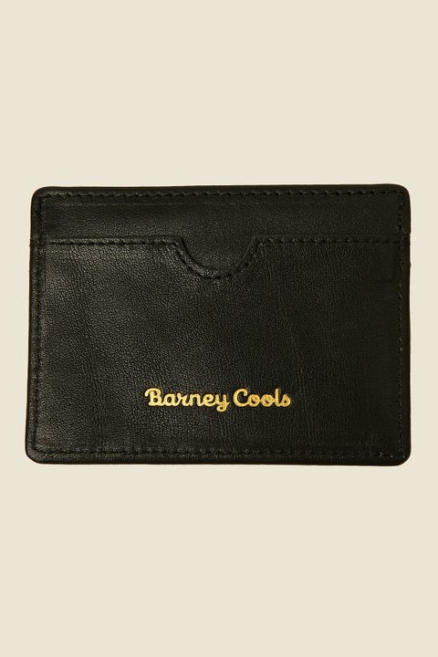 BARNEY COOLS Card Wallet Black