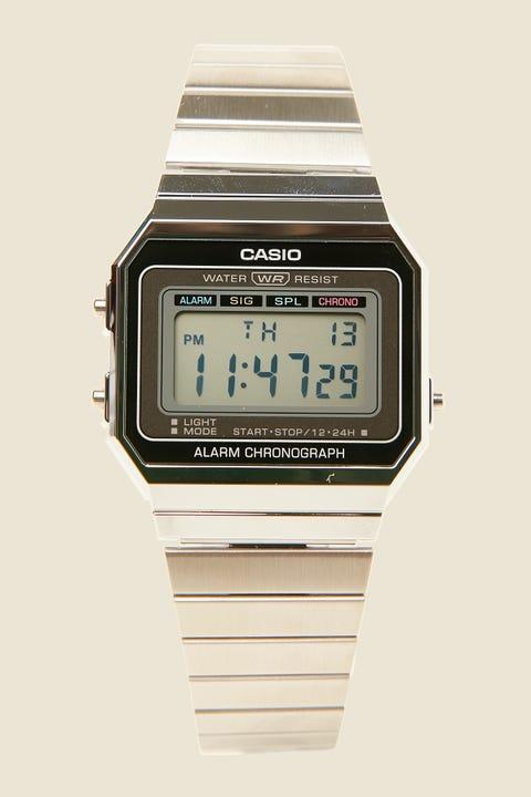 Casio A700W Silver