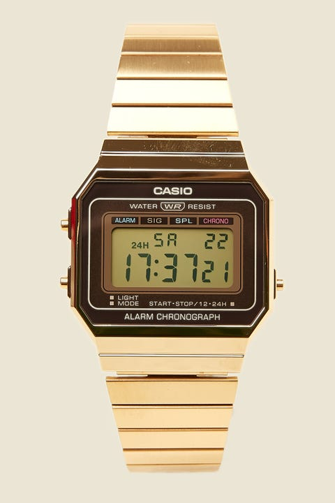 Casio A700W Gold