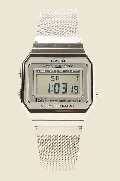 Casio A700W Milanese Silver