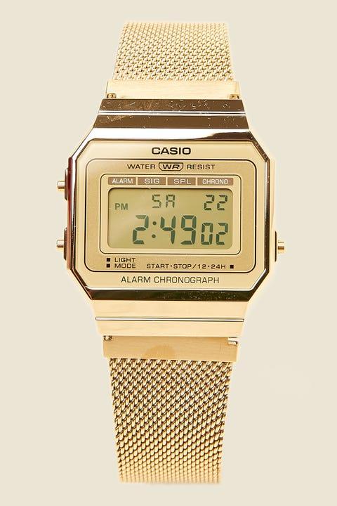 CASIO A700W Milanese Gold