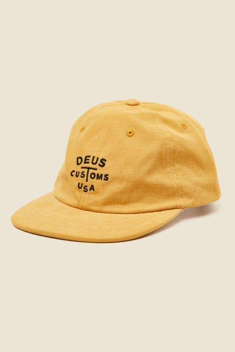 DEUS EX MACHINA Rolan Cap Yellow