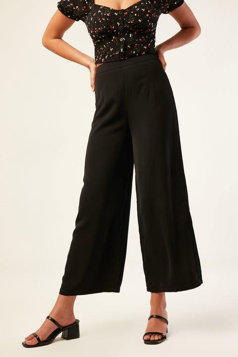 LUCK & TROUBLE Midnight Shimmy Pant Black