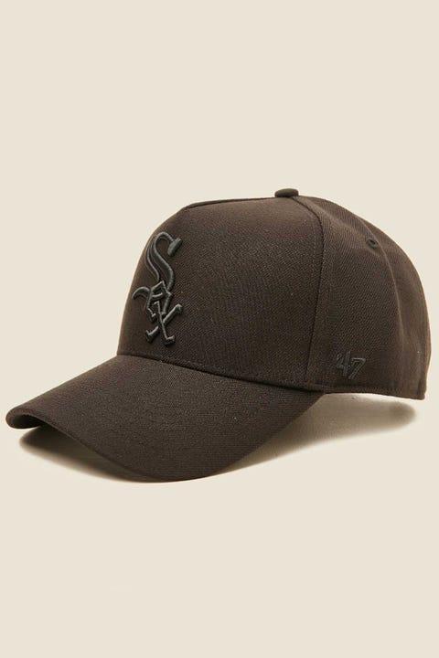 47 Brand MVP DT Snapback Chicago White Sox Black/Black