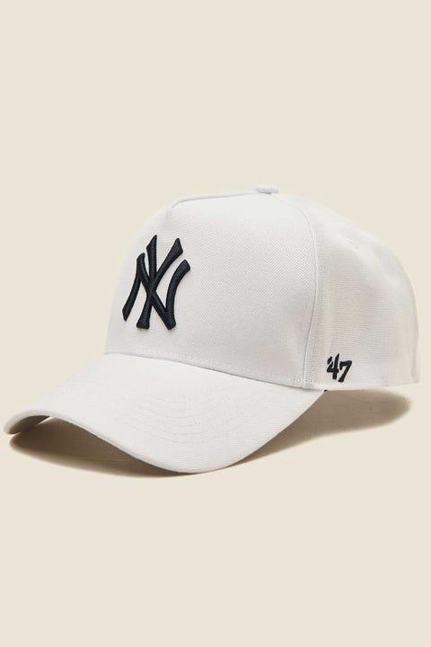 47 Brand MVP DT Snapback NY Yankees White