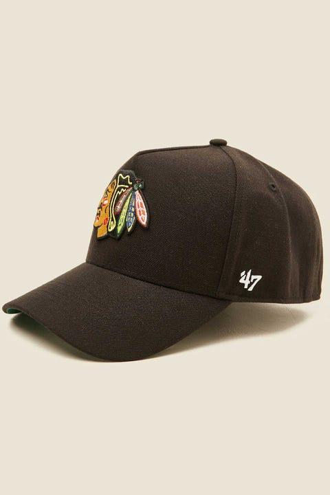 47 Brand MVP DT Snapback Chicago Blackhawks Black